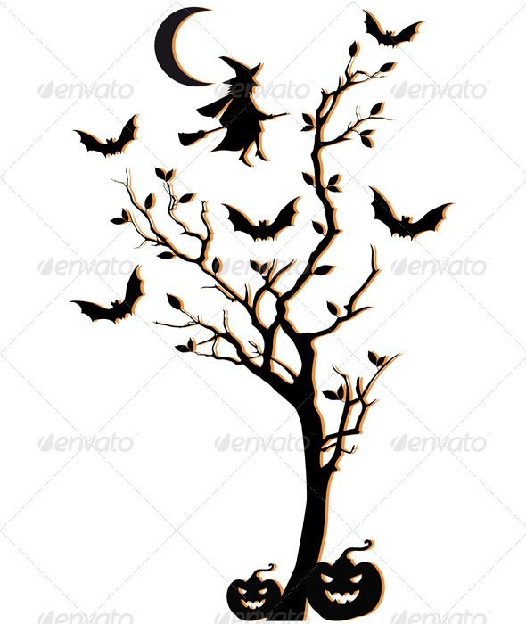 Free Spooky Tree Cliparts, Download Free Clip Art, Free Clip Art on Clipart  Library