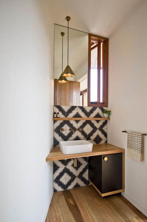 coole fliesen bath pinterest fliesen badezimmer und g ste wc. Black Bedroom Furniture Sets. Home Design Ideas