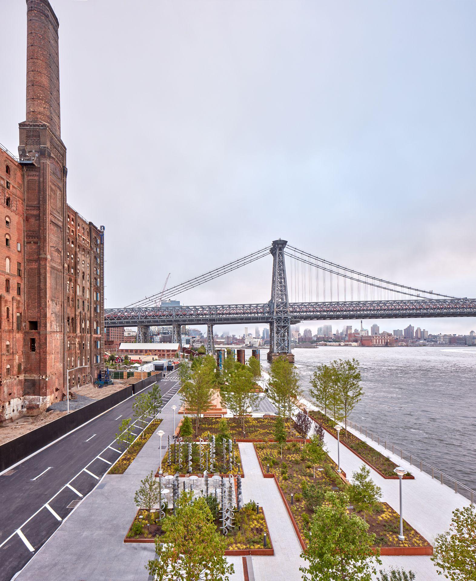 Innovative landscape architecture and garden design around