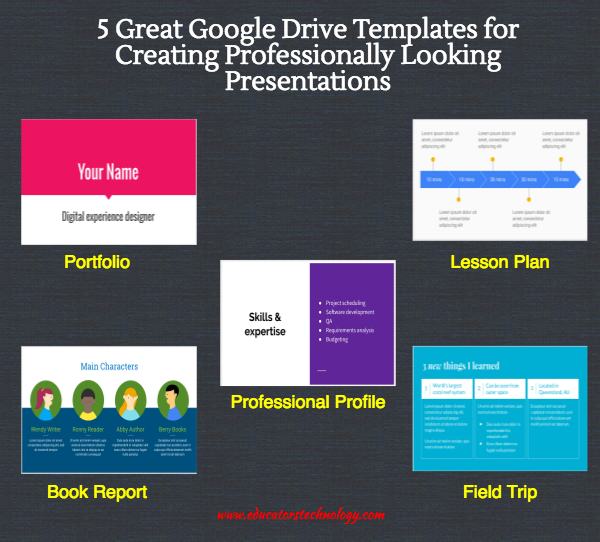 5 Great Google Drive Templates For Creating Professionally