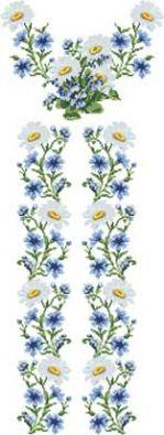 """Заготовка на домотканому полотні для вишивання жіночої вишиванки бісером або нитками """"БЖд-019-2"""" Барвиста Вишиванка"""
