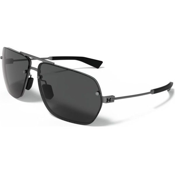 5e78e14a3de7 Under Armour UA Hi-Roll Sunglasses (7,335 INR) ❤ liked on Polyvore  featuring men's fashion, men's accessories, men's eyewear, men's sunglasses  and under ...