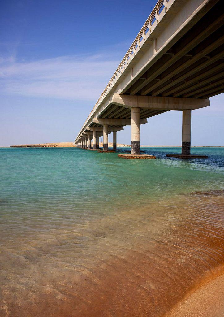 Bridge Over Farasan Island Saudi Arabia Saudi Arabia Red Sea Beautiful Beaches