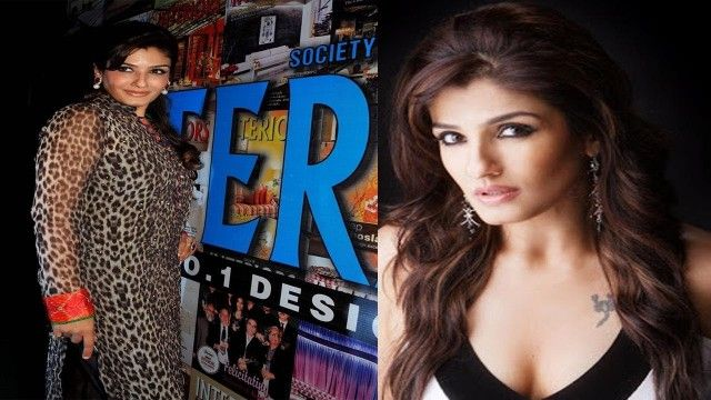 Veteran Actress Raveena Tandon Unveils COVER PAGE of Society Interiors Magazine