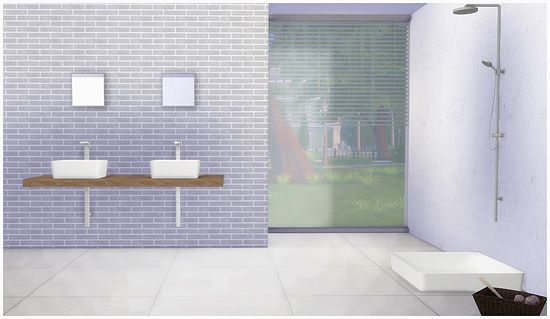 Sims 4 CC's - The Best: Bathroom by Mio Sims