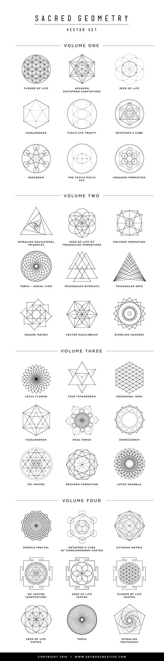 shares Facebook Twitter Google+ Pinterest StumbleUponWhat an interesting concept? Sacred geometry, two things that one would believe cannot be connected to each other but actually are. In fact, most of us think of geometry as a dry and dull subject, which has come into existence only to make our lives tougher. But the fact is that geometry has many mystic and even nature related connotations that one cannot ignore. While one may not be wrong in quoting excellent examples of cubism art works…