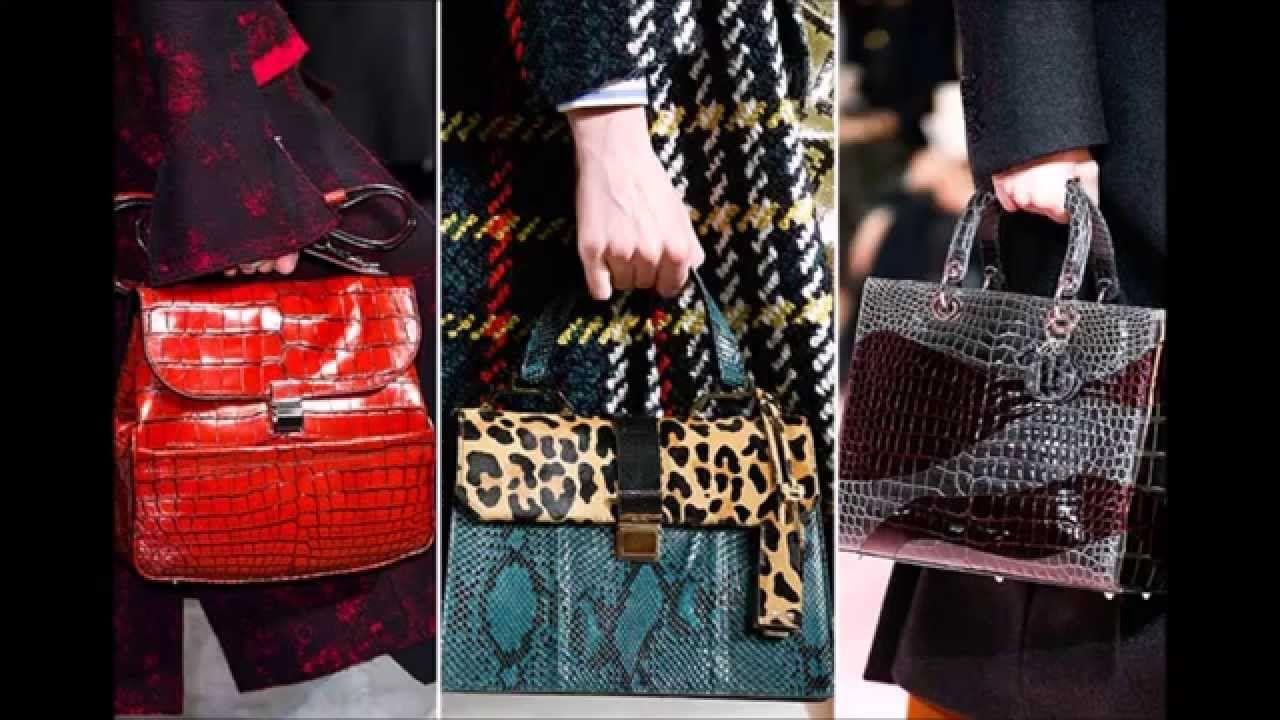 Hot Handbag Trends 2017 Autumn Fall Fashionisers