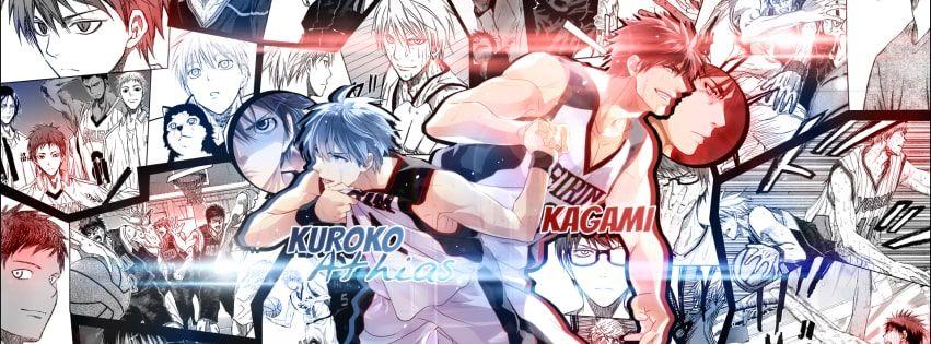 Anime Kurokos Basketball Daiki Aomine Facebook Cover Basketball