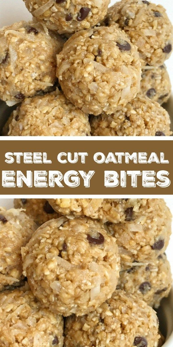 Steel Cut Oatmeal Energy Bites | Together as Family