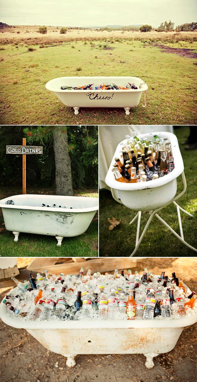 Outdoor Wedding I Wedding Cooler Ideas I Outdoor Wedding Ideas I Rustic  Wedding I Redneck Wedding I Vintage Wedding Ideas