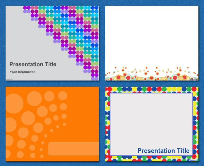 Free Powerpoint Templates Dots Powerpoint Templates