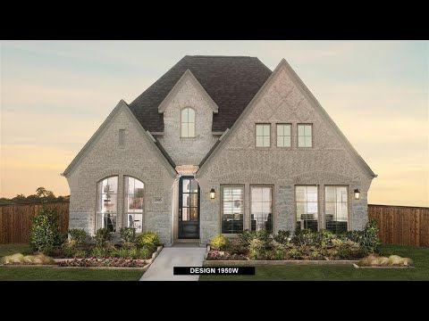 Perry Homes in Prairie Oaks 45 Model Home Video Tour