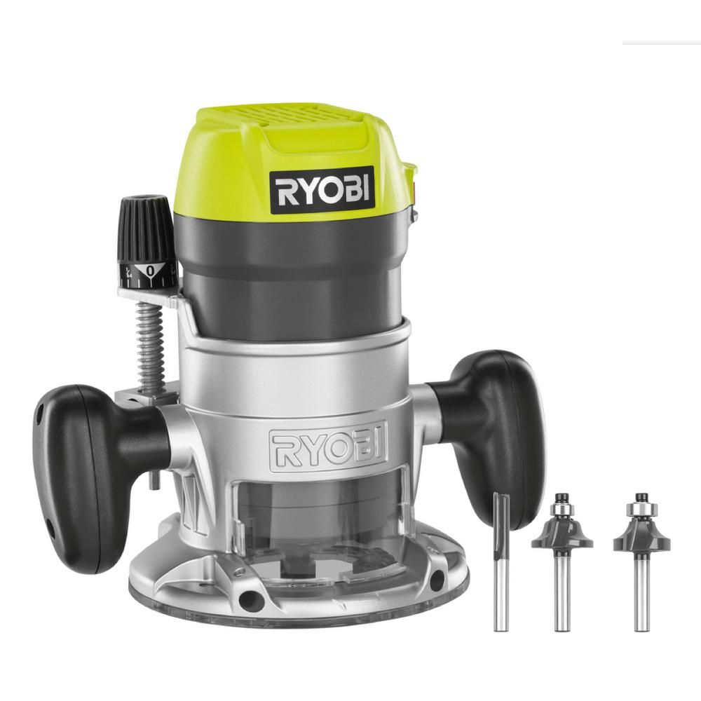 Tremendous Ryobi 8 5 Amp 1 1 2 Peak Hp Fixed Base Router R1631K In 2019 Caraccident5 Cool Chair Designs And Ideas Caraccident5Info