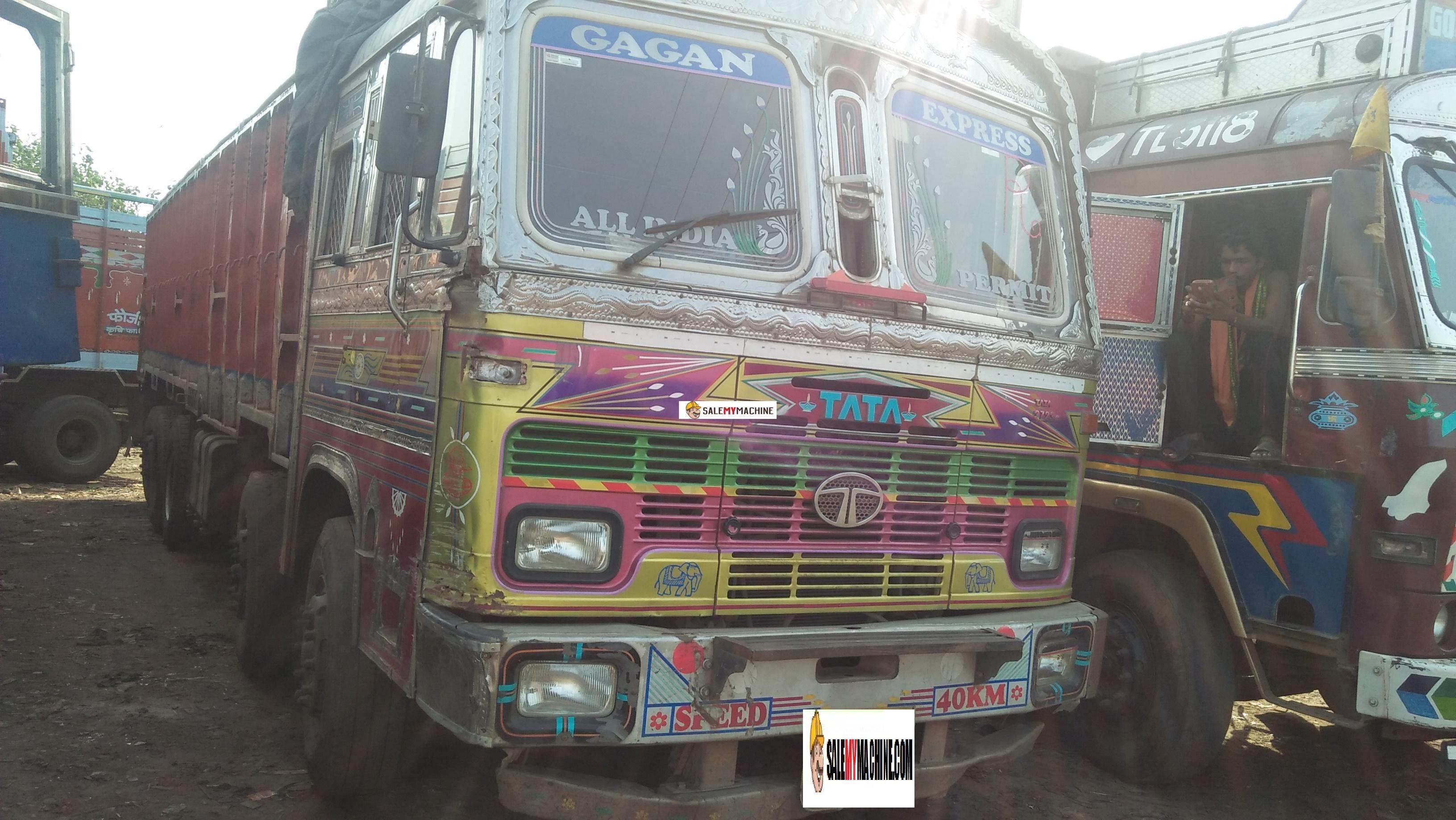 used TATA 14 WHEELER TRUCK for sale in odisha,india at