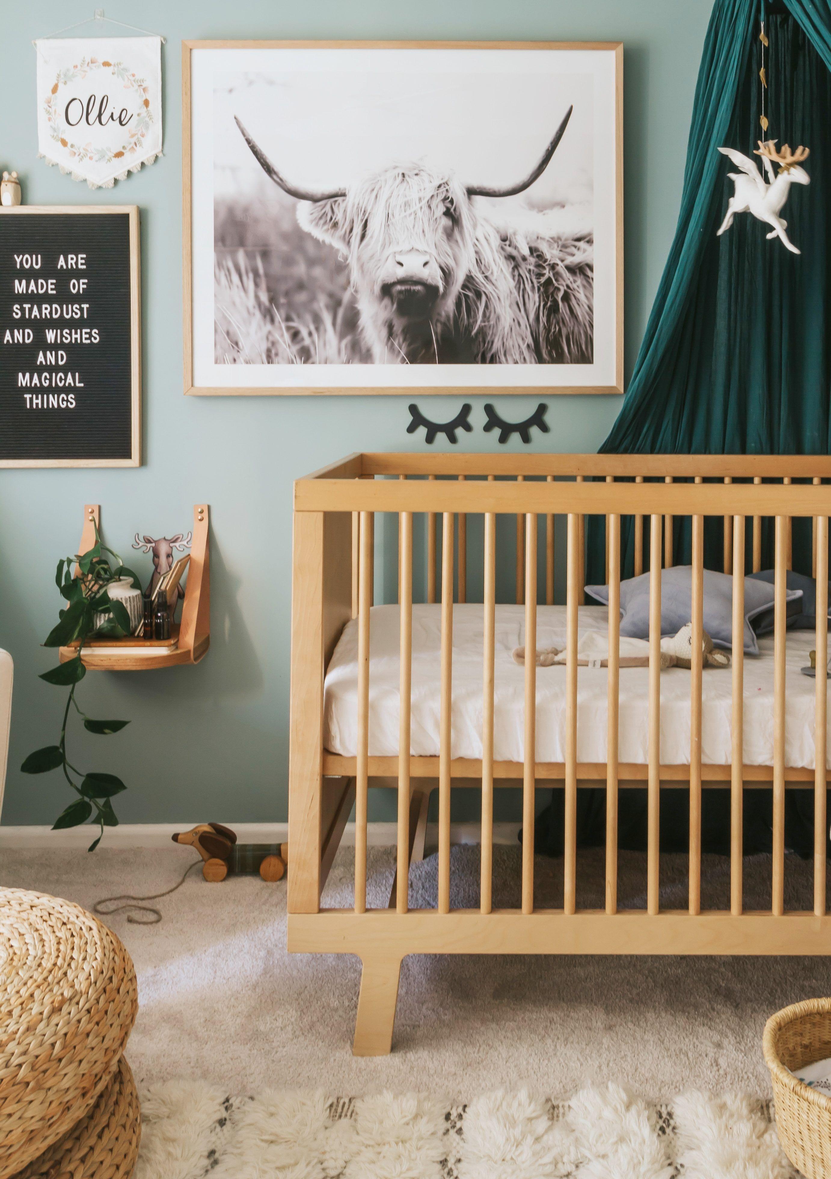In The Nursery With Indi And Bear Nursery Trends Cow Nursery