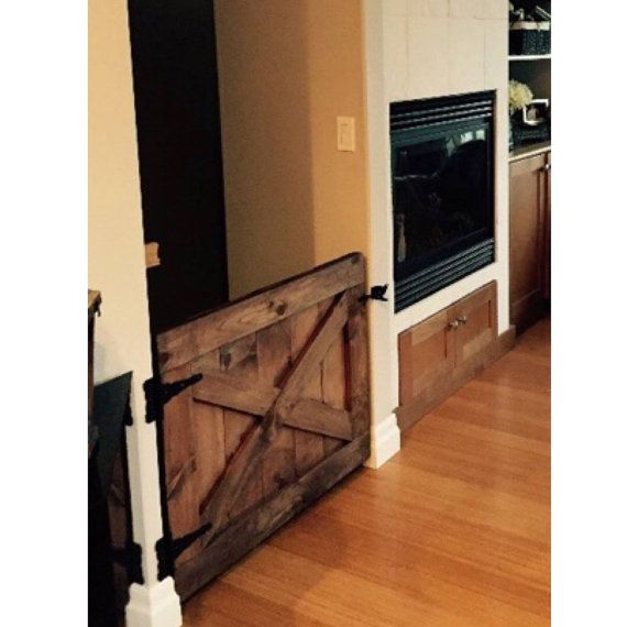 Door Barn Door Style Baby Gate