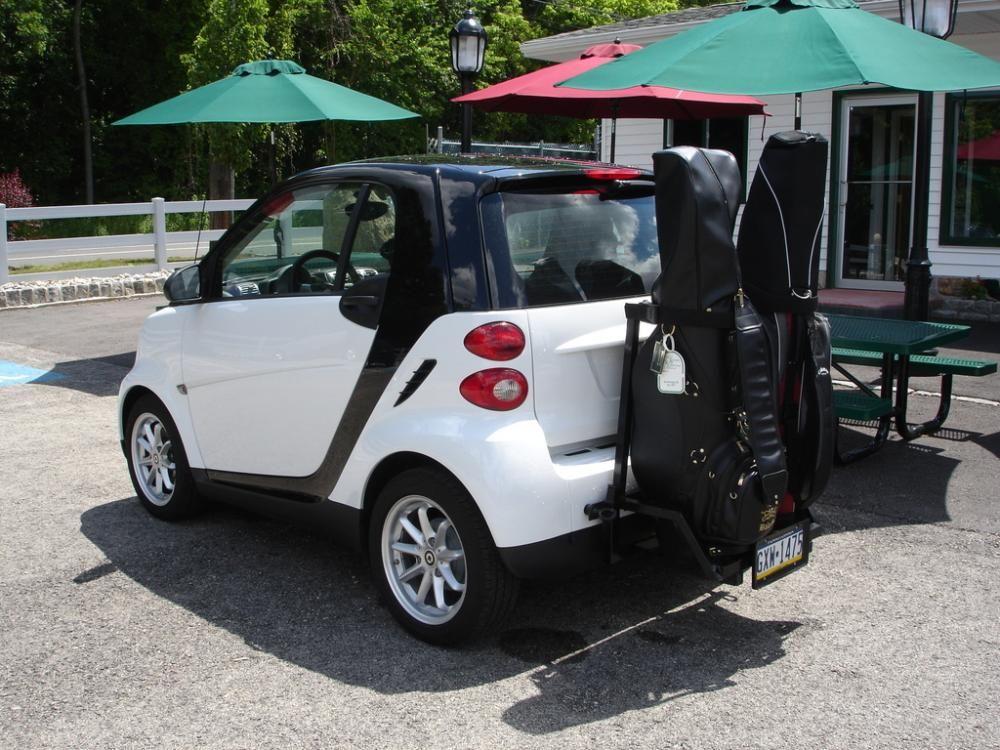 Smart Fortwo Golf Bag Rack Coches Y Motocicletas Motocicletas