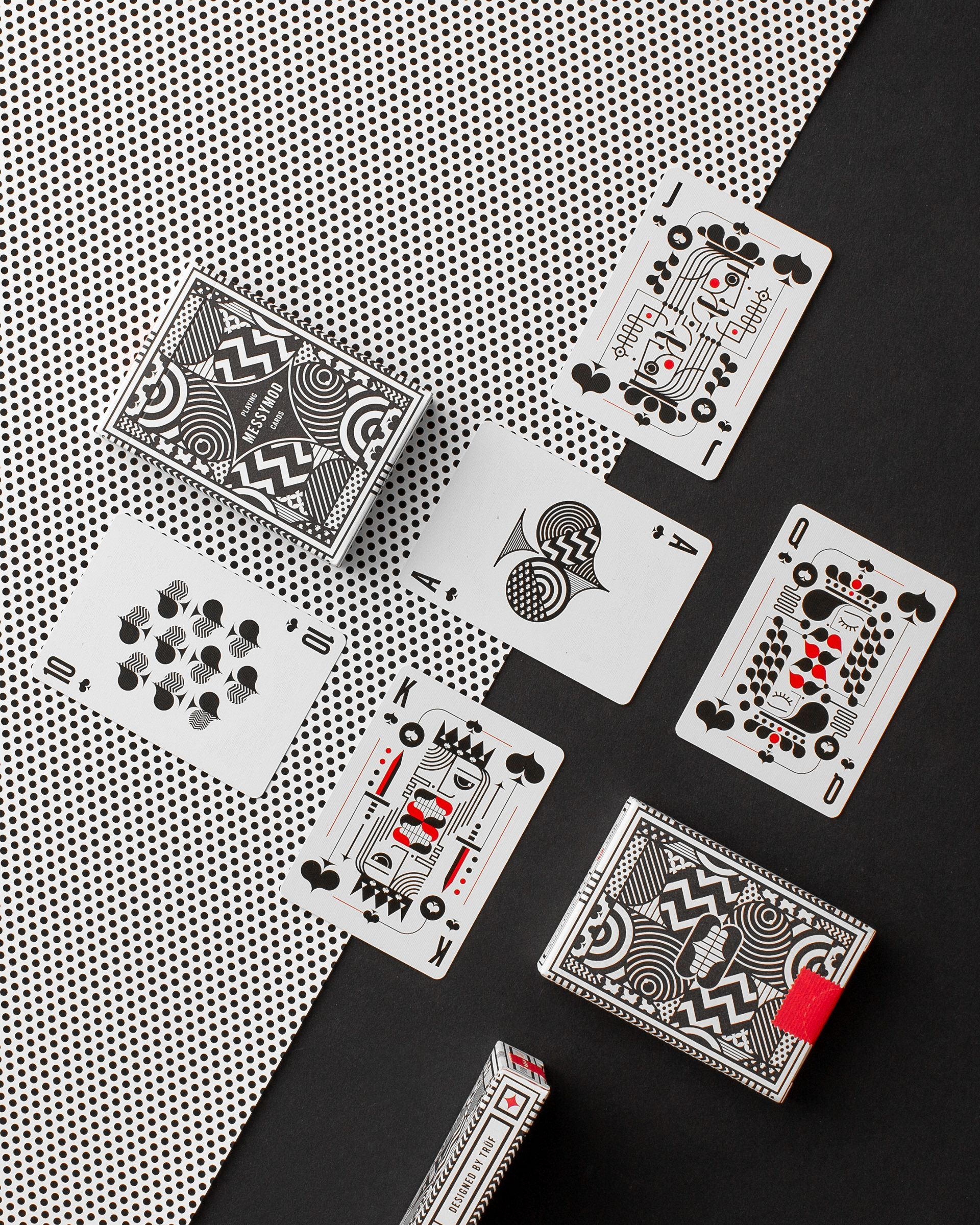 Quirky And Modern Design Playing Cards By Truf Creative For Art Of