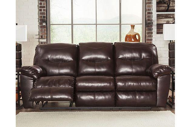 Kilzer Durablenda R Reclining Sofa By Ashley Homestore Brown