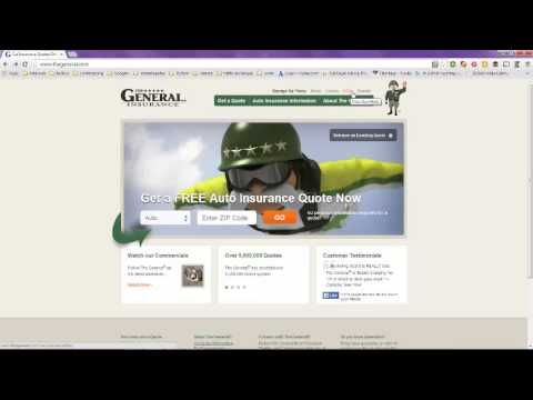 The General Insurance Quote | Auto Insurance The General Insurance Company Of America Best