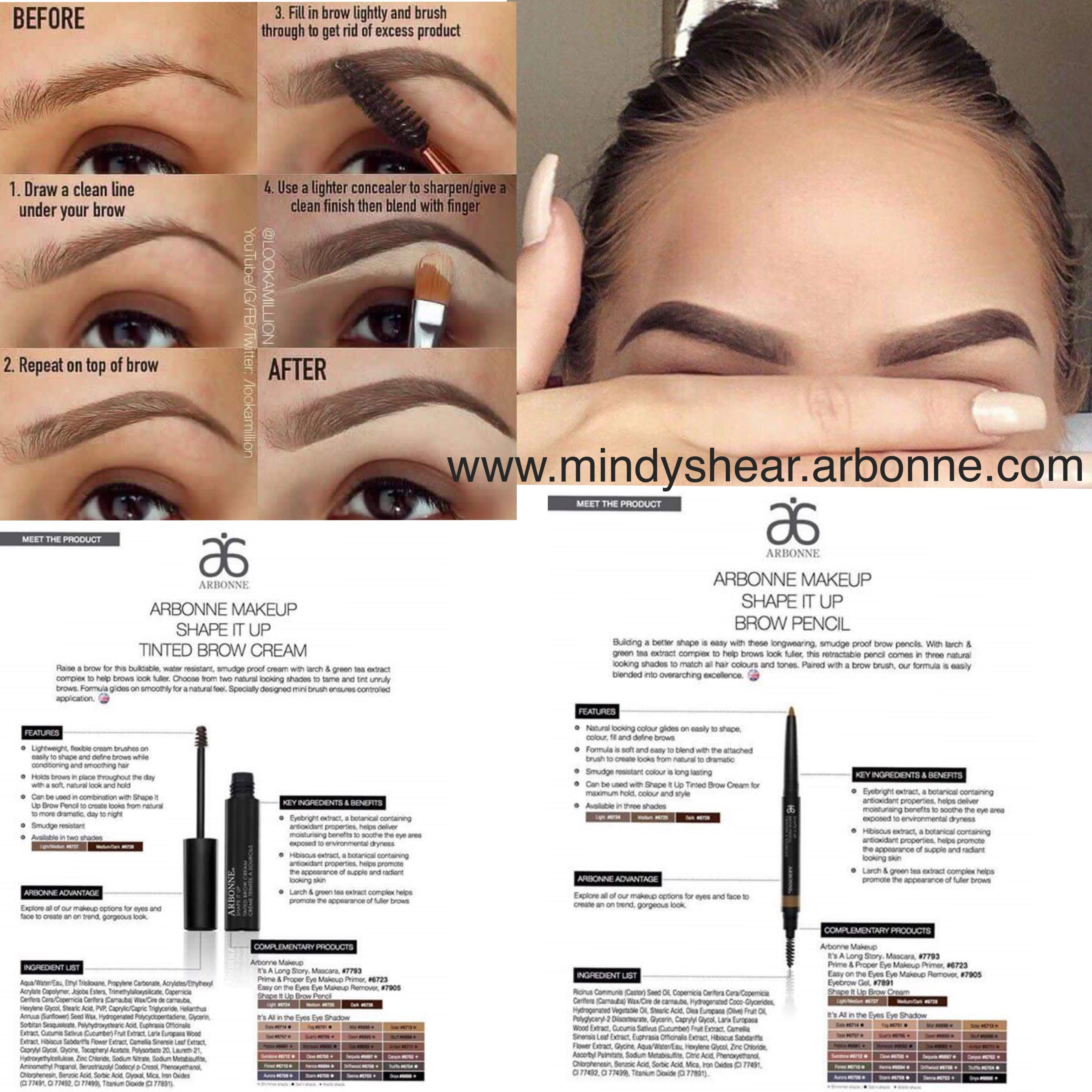 How to create the perfect shaped eyebrows with Arbonne ...