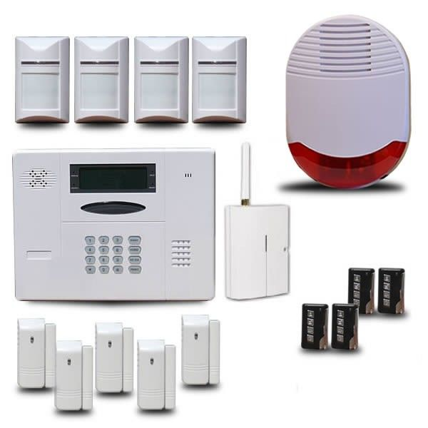 Alarme sans fil GSM KA560 Alarme maison Pinterest