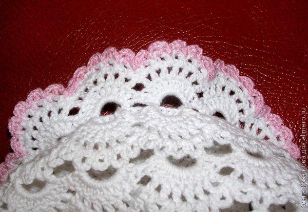 قبعة كروشية للمولودة Victorian Crocheted Hat Crochet Baby Hats Crochet Stitches Video Crochet Hats