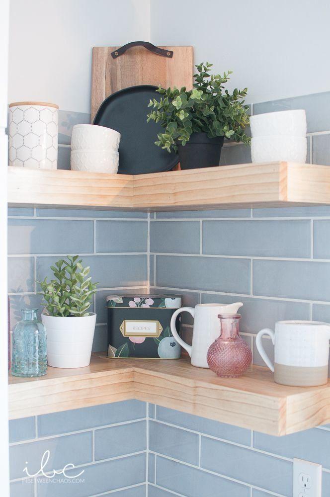 kitchen floating corner shelves 1000 in 2020 corner on floating shelves kitchen id=52369