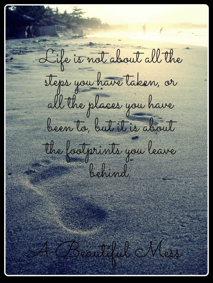 I Love The Poems Of Footprints In The Sand Personal Close I Hold