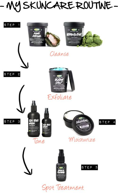 My Skincare Routine With Lush Skin Care Acne Prone Skin Smokey Eye For Brown Eyes