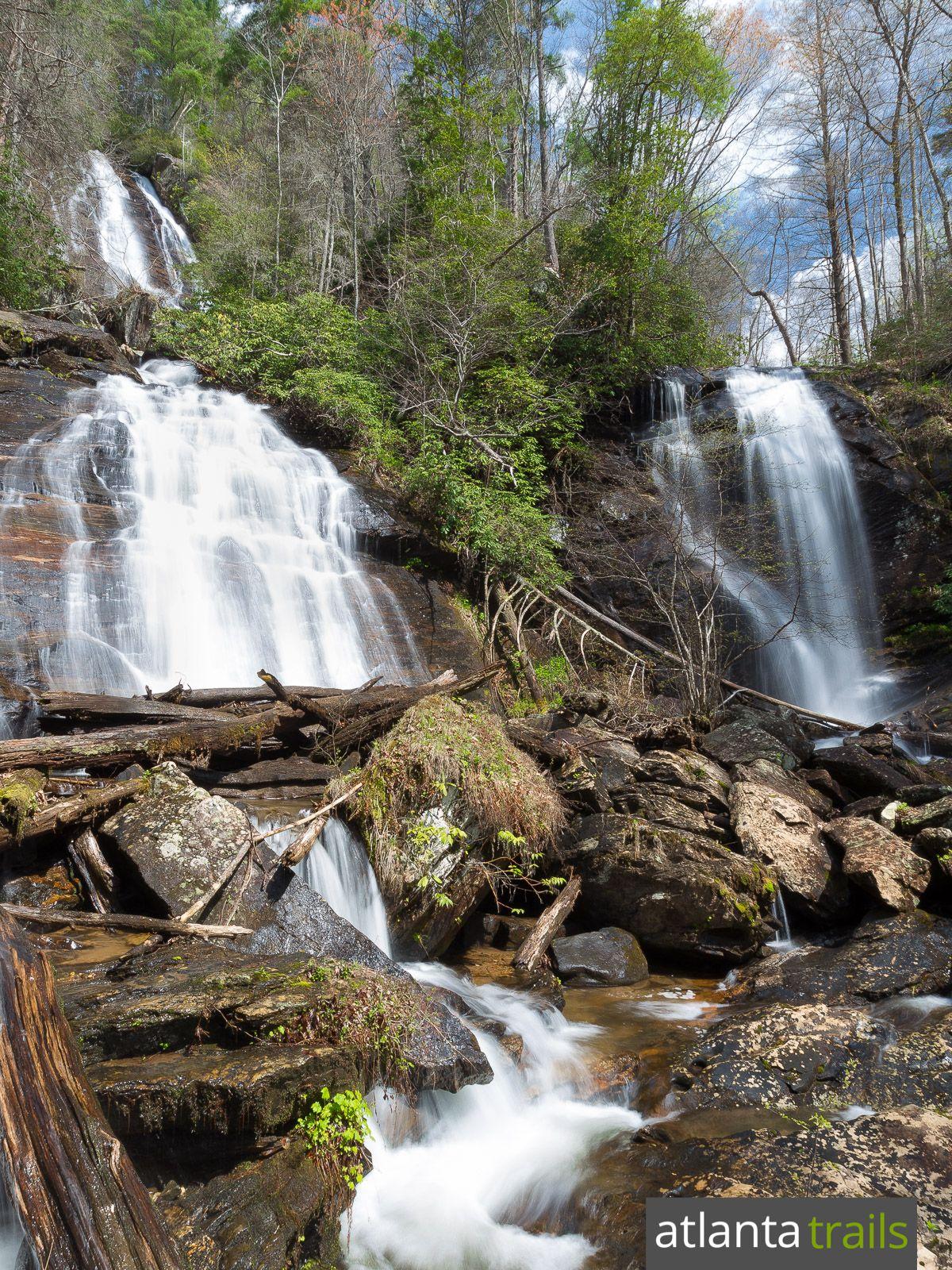Anna Ruby Falls Hiking Hiking In Georgia Waterfall