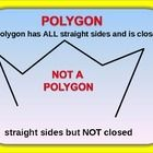STUDENTS WILL DECIDE IF THE FIGURE IS A POLYGON OR NOT A POLYGON. THESE 28 SLIDES WILL GIVE STUDENTS LOTS OF PRACTICE. STUDENTS WILL KNOW WHEN A FI...