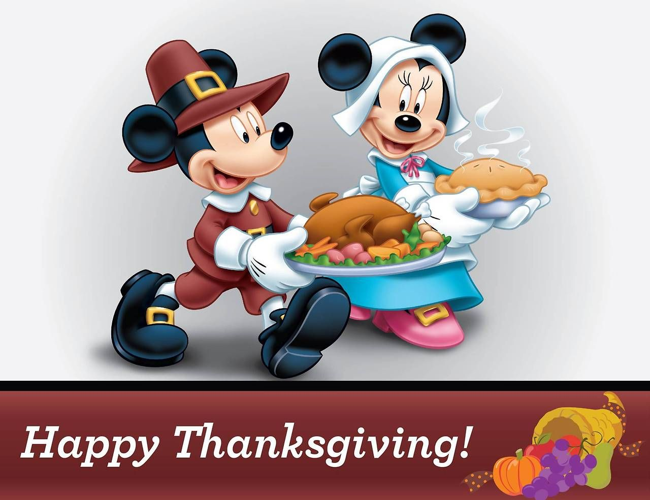 Disney Mickey And Minnie Mouse Happy Thanksgiving Wallpaper Id 6426 Download Pag Disney Thanksgiving Happy Thanksgiving Wallpaper Thanksgiving Wallpaper