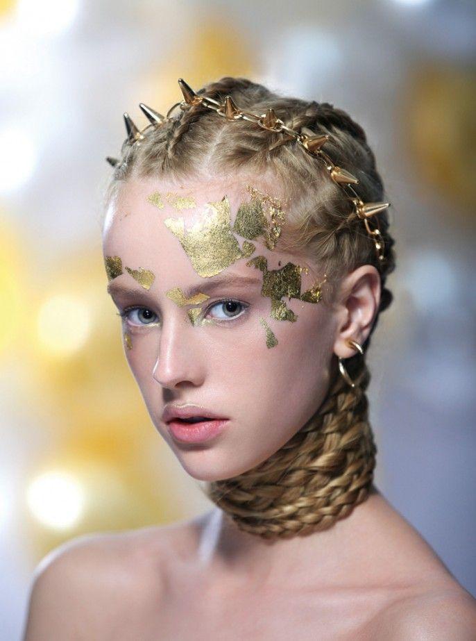 how to make fake gold leaf