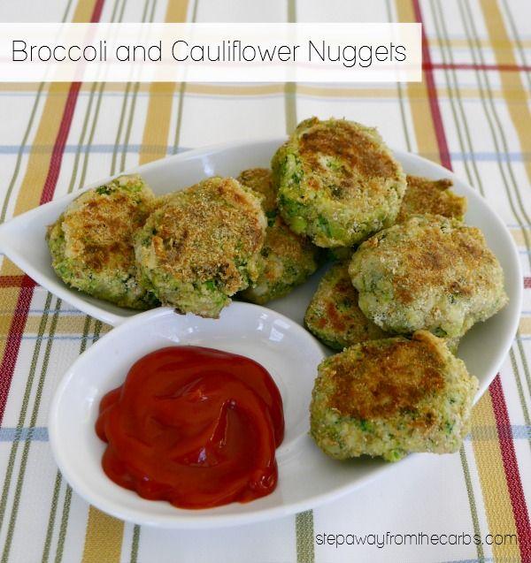 Nuggets Keto: Broccoli And Cauliflower Nuggets