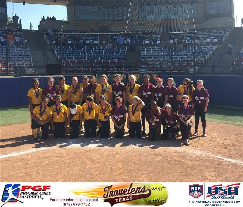 The Texas Travelers Beat Impact Gold In The Asa Hall Of Fame Tournament In Oklahoma City