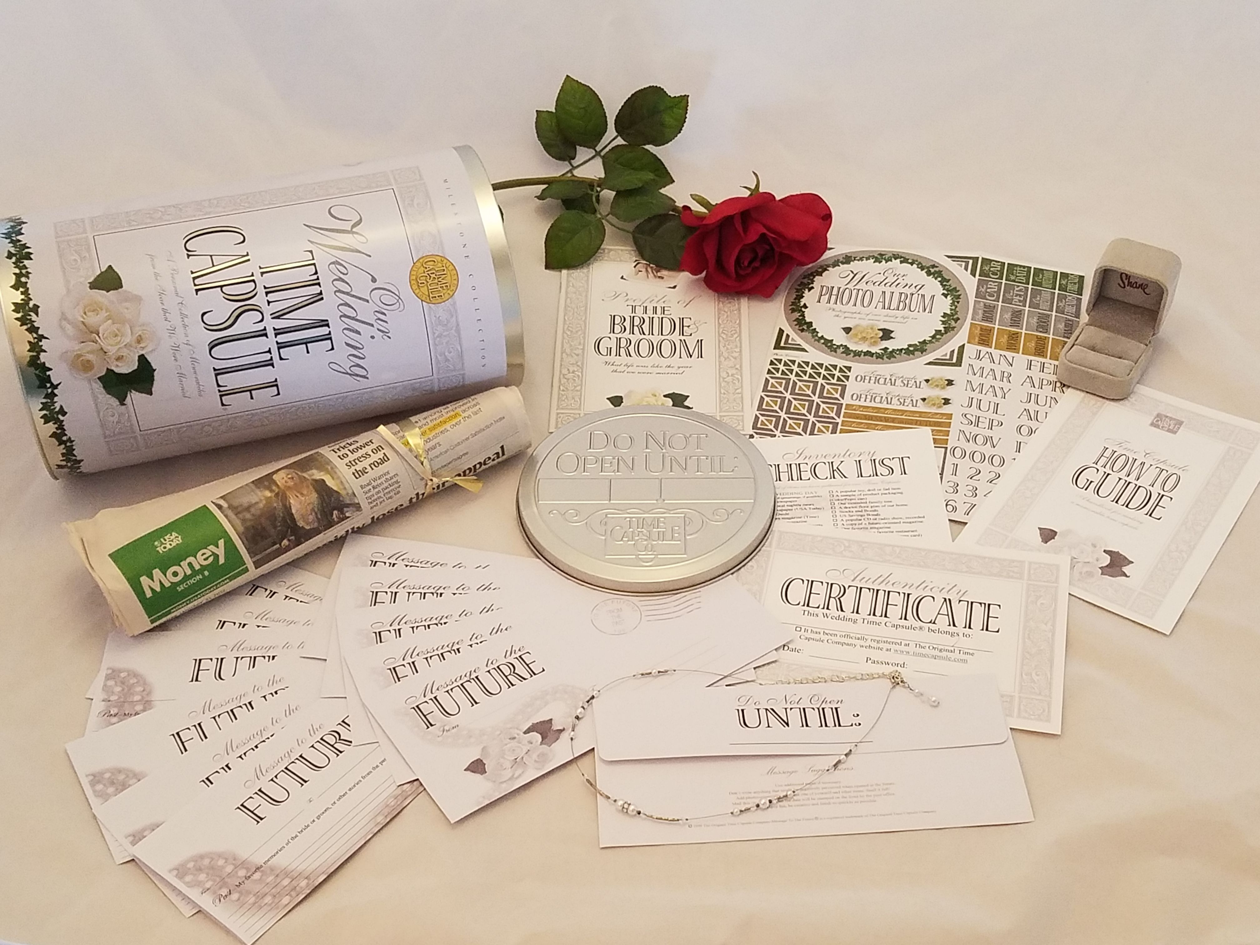 it is a precious heartfelt enduring bridal shower gift for the wedding reception have guests fill out the message to the future letters to the couple