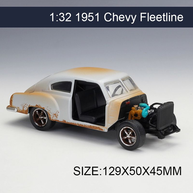 1 32 Diecast Model Car 1951 Chevy Fleetline Vehicle Play