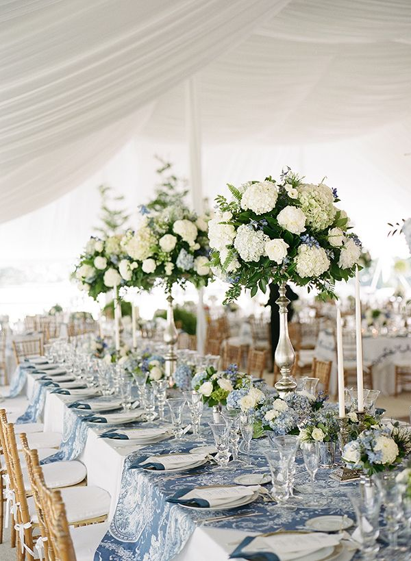 Blue And White Wedding By Melissa Schollaert Something Blue
