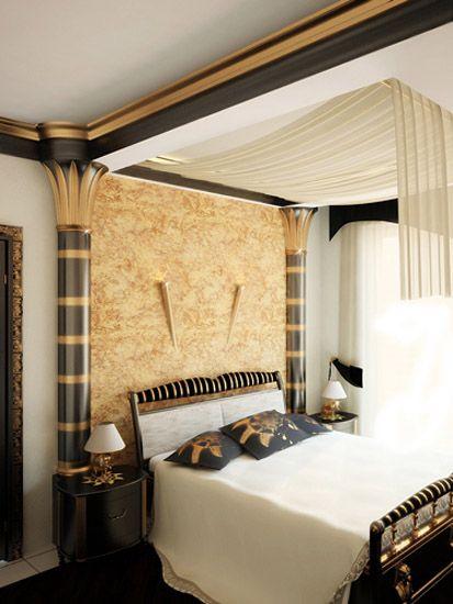 Egyptian Themed Bedroom Future Home Ideas Pinterest Egyptian - Egyptian bedroom design