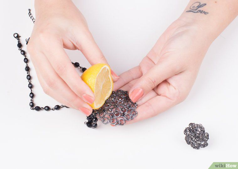 How To Clean Fake Jewelry 14 Steps With Pictures Wikihow Fake Jewelry Cleaning Jewelry Cleaning Silver Jewelry