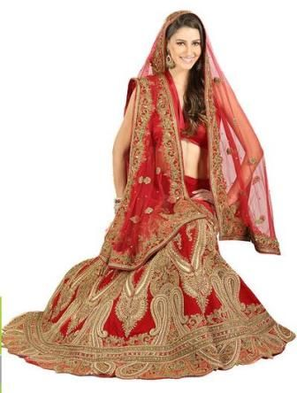 Indian Bridal Dress 2013