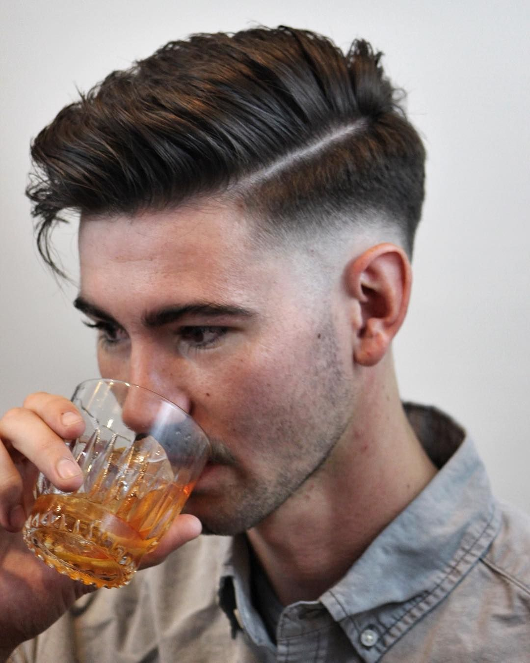 Popular Men Hairstyles Adorable Blend Fade Haircut And Hairstyles For Men  Mens Hairstyles