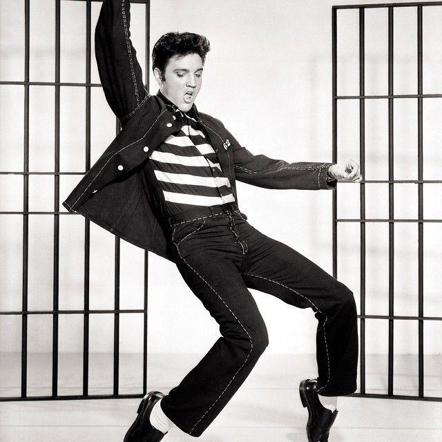 Elvis Presley ... Jailhouse Rock, 1957