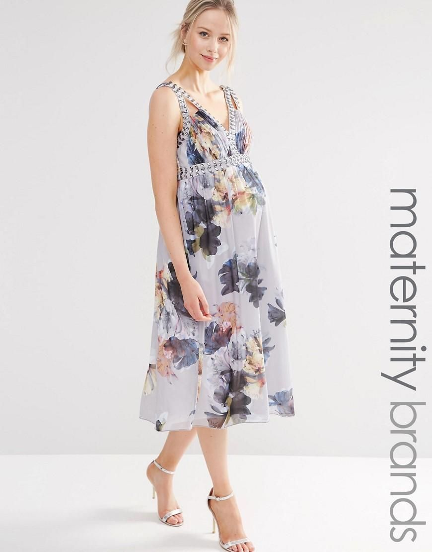 Little mistress maternity little mistress maternity floral print asos online shopping for the latest clothes fashion breastfeeding fashioncasual dresseswomens ombrellifo Choice Image