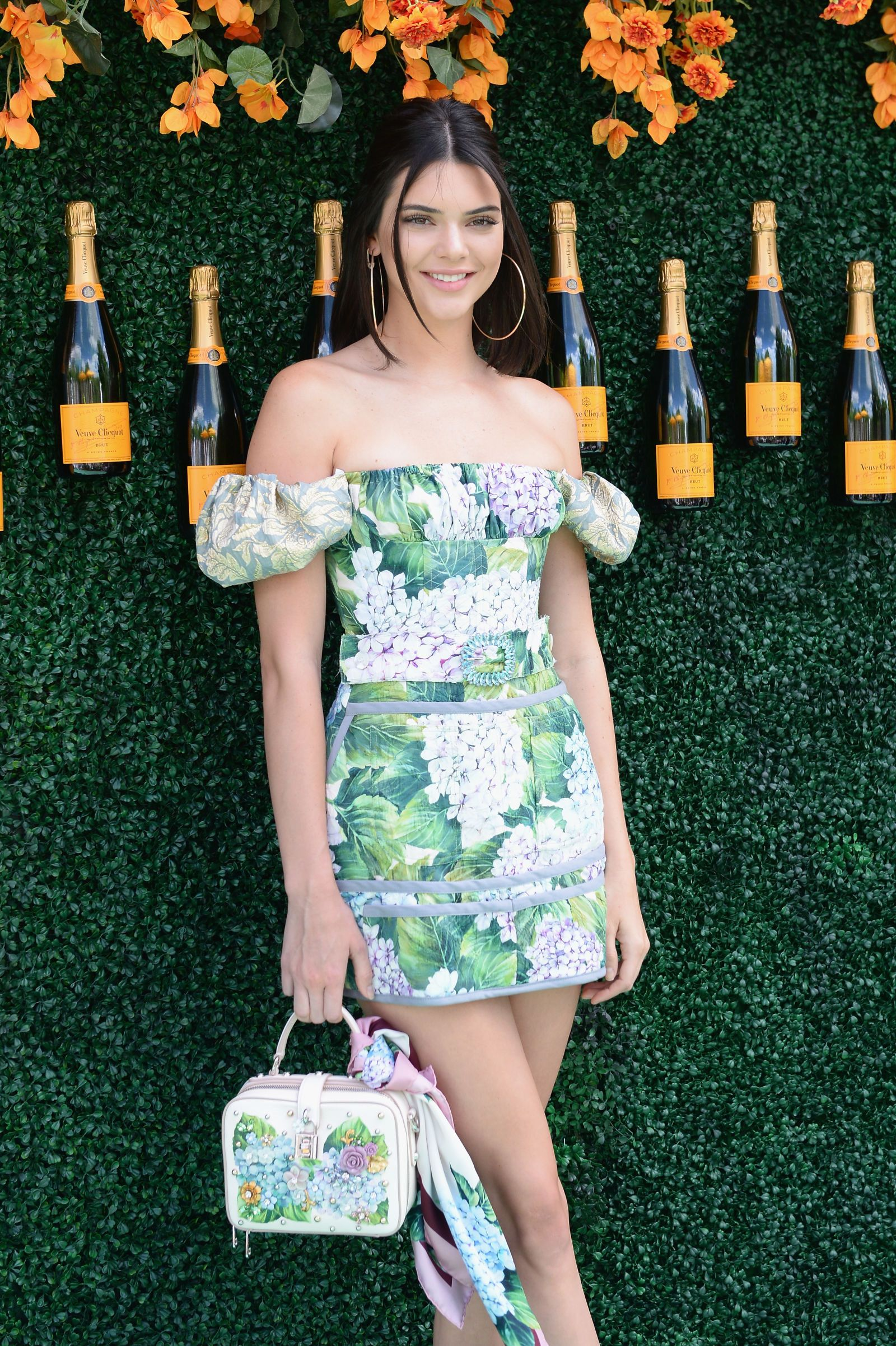 3f8e14c43cd Kendall Jenner s Crazy Short Floral Mini-Dress Is EVERYTHING ...