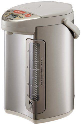 Zojirushi CV-DSC40 VE Hybrid Water Boiler and Warmer Stainless Steel ...