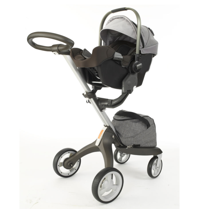 nuna pipa infant car seat stokke xplory stroller in black melange xplory the ultimate. Black Bedroom Furniture Sets. Home Design Ideas