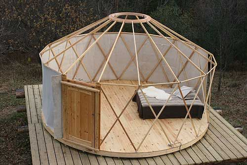 just give me a small piece of secluded land and I can build my yurt <3 .goals.