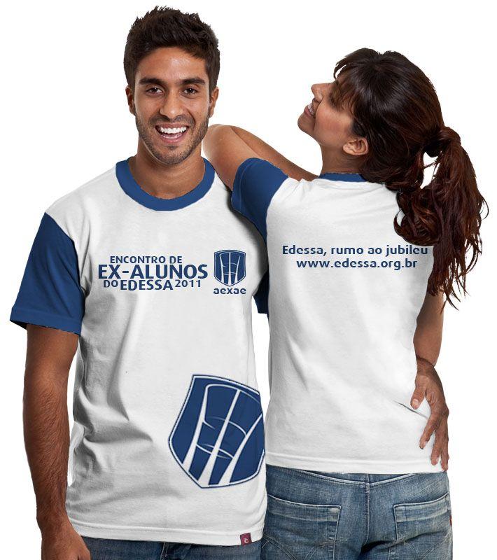 Camisa do Enncontro de Ex-alunos do Edessa.